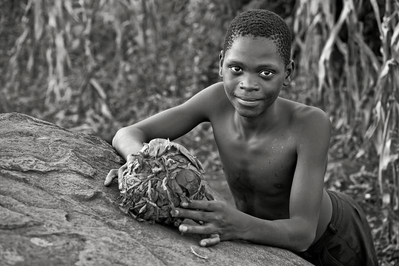 Kenya-Grayscale