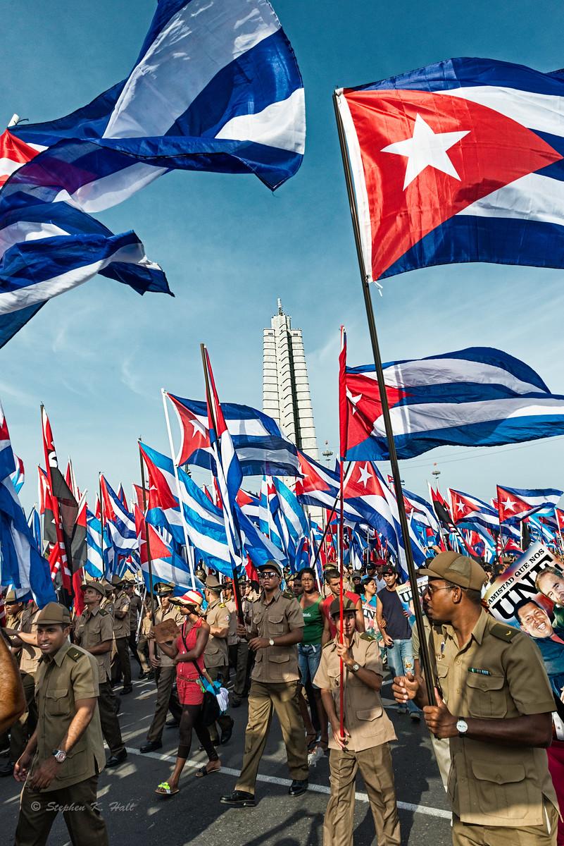 Cuba: May Day 2014